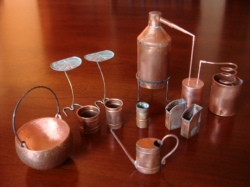 Alan Hamer copper workshop