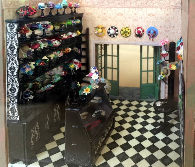 1/4 Scale Hat Shop by Paula Holm.