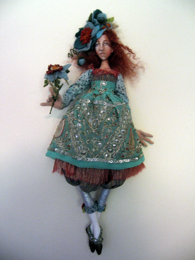 Fabric Doll Workshop with Christine Shively.