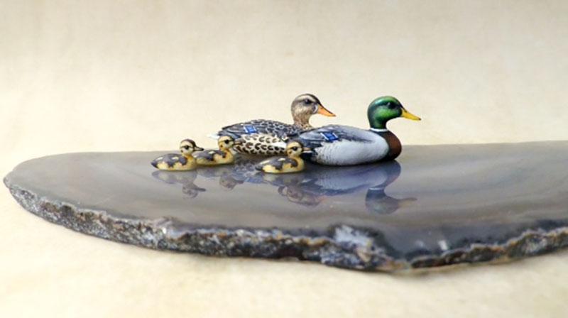 2016 Good Sam workshop: Mallard Duck Family with Beth Freeman-Kane