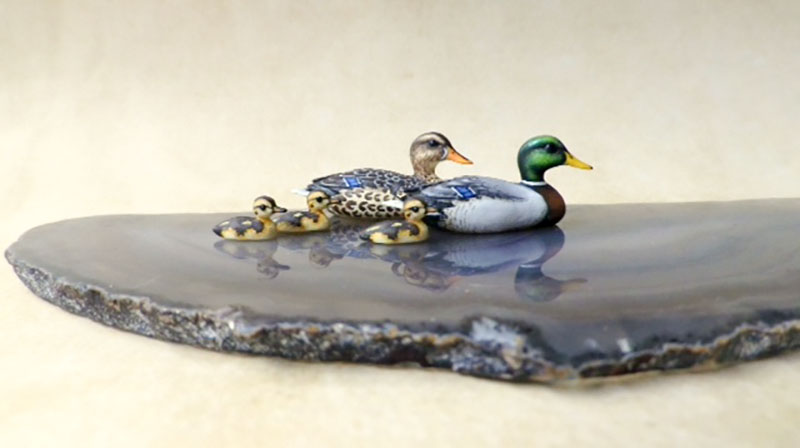 2016 Good Sam workshop: Mallard Duck Family with Beth Freeman-Kane