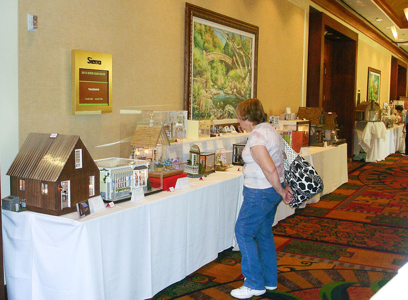 exhibit tables
