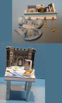 Cinderella Table and Shelf Set