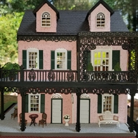 Sherie Hurd completed this New Orleans style project.