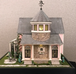 "Lisa Holm created the 1:48 scale, ""Petalstone."""