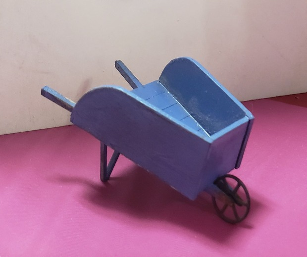 WoodenWheelbarrow
