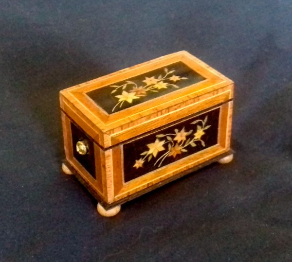 Marquetry Dower Chest circa 1850 with Chris Malcomson