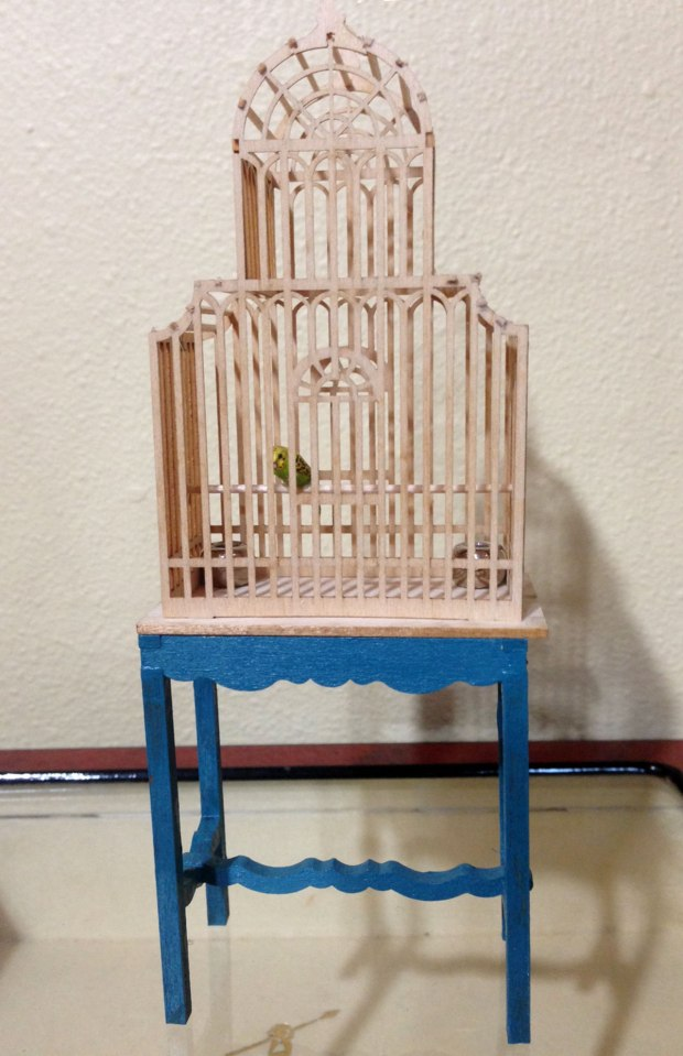 photo of birdcage