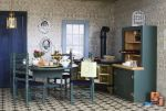 photo of dollhouse kitchen